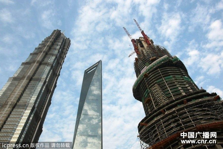 """""""上海中心钢结构"""