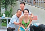 TVB节目出新招博收视:邀曾志伟与众女星戏水
