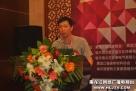 黑龙江省福建商会吴庆和在开幕式上讲话。