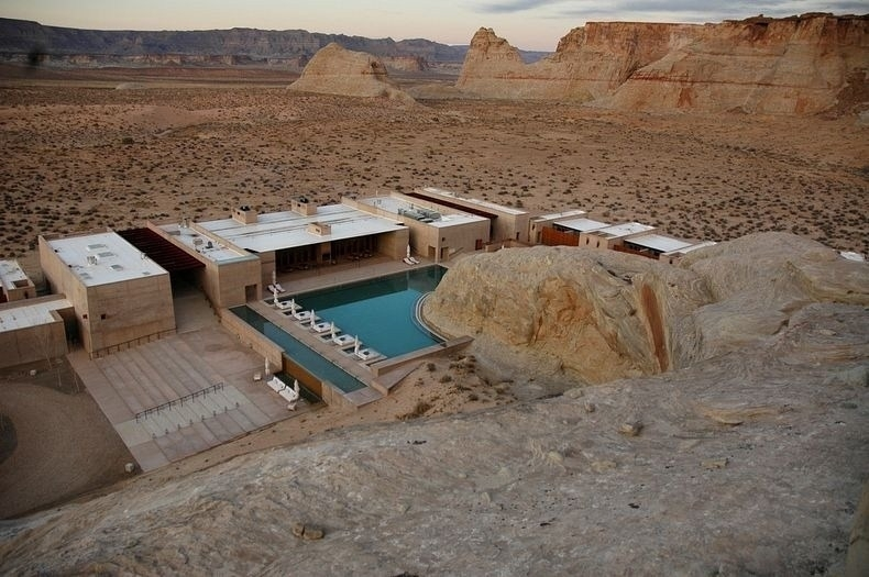 美国沙漠豪华度假酒店