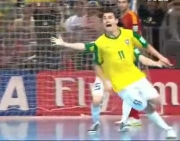 五人制世界杯 巴西3-2绝杀西班牙夺冠