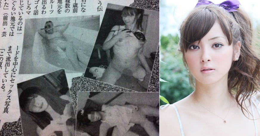 曾获最美丽面孔日本美女称号