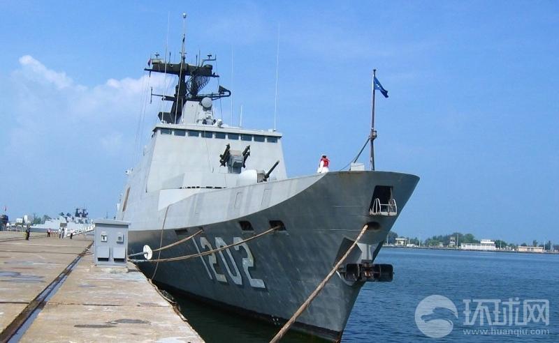 """该级舰原型为法国的拉法叶级巡防舰,属于台湾""""海军""""的一级舰,主要任务"""