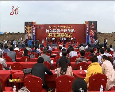 哈尔滨海宁皮革城项目正式开工