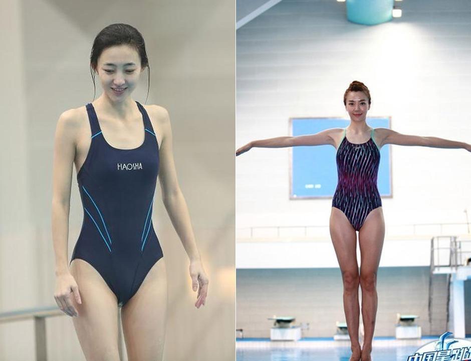 下面请随搜狐体育一起检阅两大女神素颜