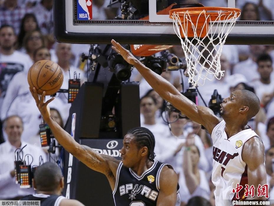 NBA总决赛热火夺冠 詹姆斯荣膺MVP 组图图片