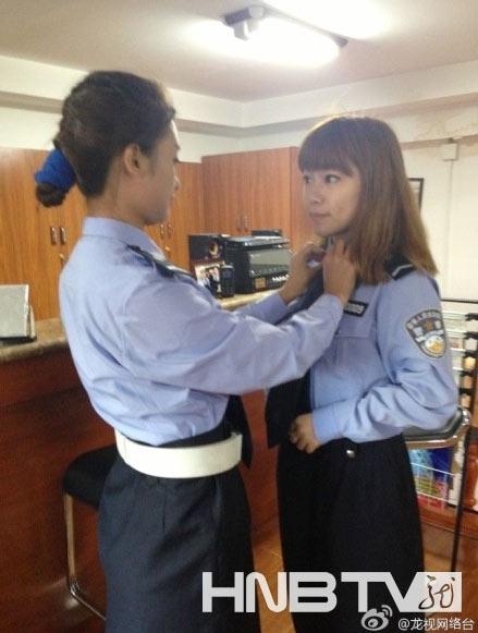 """还记得网络爆红的""""哈尔滨最美女交警""""吗"""