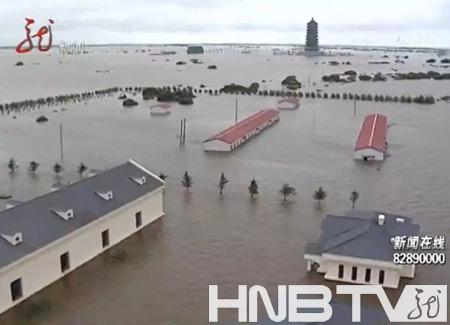 黑瞎子岛被洪水淹没20余天边防官兵坚守岗位