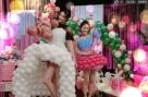 订制气球裙史上最特别最美好礼服。《美丽俏佳人》 圣诞特别节目的录影现场布置的美仑美奂一切都特别美好。关注黑龙江卫视美丽俏佳人,周一至周五23:15不见不散!