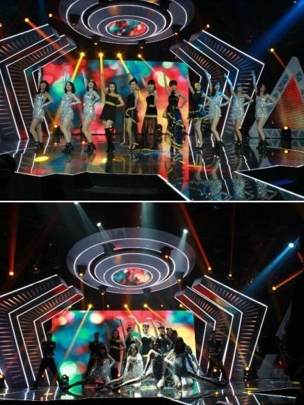 美女主持V-lady热舞开场秀。