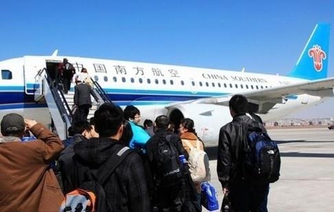 1月27,28日南航春运在哈尔滨增22次航班