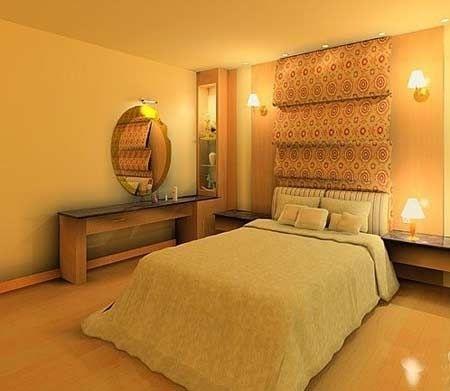 卧室刷漆效果图 简单装修完美私密空间(4)
