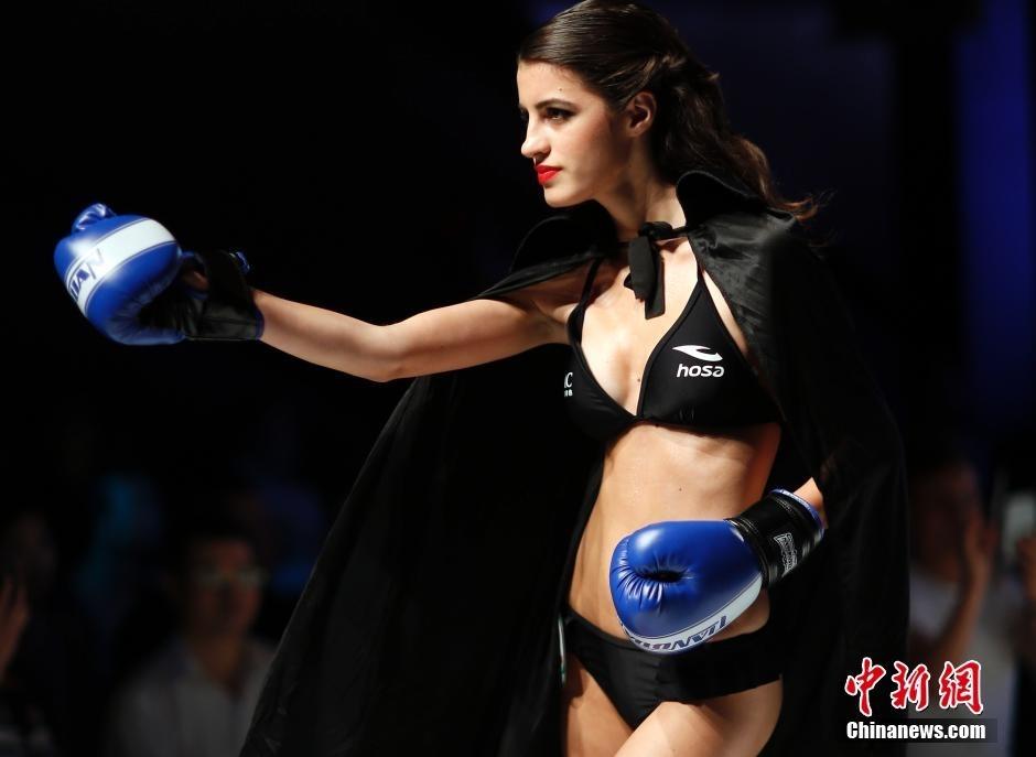 本次世界比基尼模特大赛全球总决赛在广州
