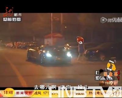 记者分别开豪车和普通车与美女搭讪点击观看视频