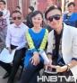 黑龙江电视台知名节目主持人梁枫(左)、邓晓航(中)、维斯(右)主持本次路演活动。