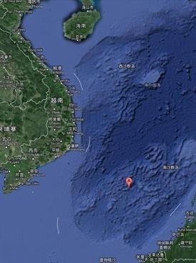 中国南海华阳礁填海造岛作业现场图曝光(组图)