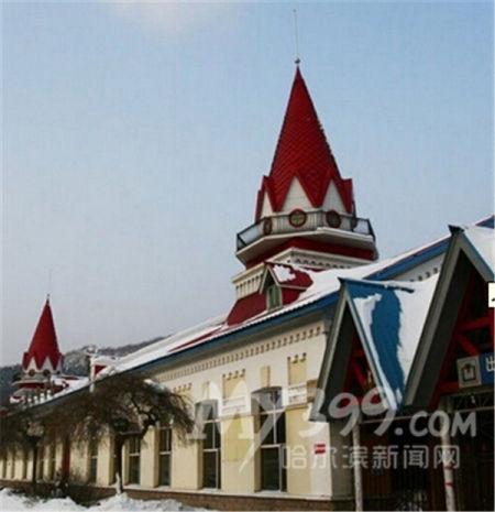 火车站,并附上美图,其中就有哈尔滨尚志市亚布力镇南站,以及我省海林