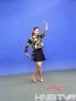 美女选手舞蹈展示