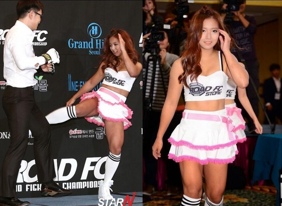 韩国美女格斗均童颜巨乳
