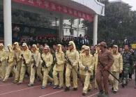 咸阳一学校学生穿日本二战时军服引质疑