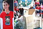 《跑男》遭遇史上最困难挑战 奔跑团自制纸船载人下水