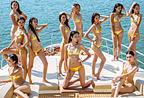海滩超模大赛 11名佳丽比基尼争奇斗艳