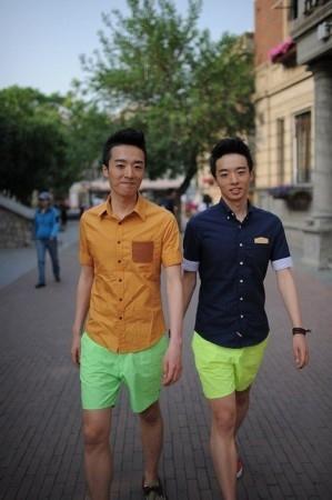 北大最帅双胞胎成胖子励志楷模
