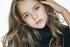 天使面庞 俄罗斯9岁美少女成国际超模