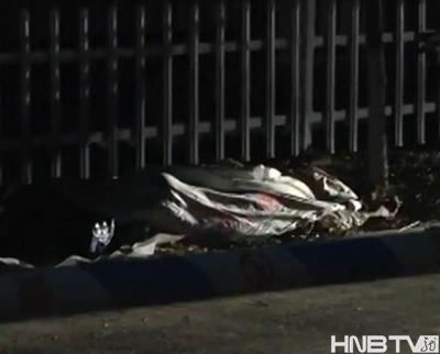 哈尔滨天鹅湖小区起火民宅内现男尸 两女子曾身带血迹跑出