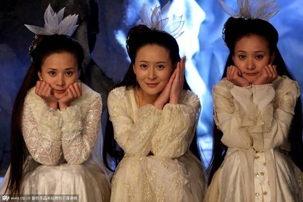陈妍希主演《神雕侠侣》遭吐槽包子脸仙女雷