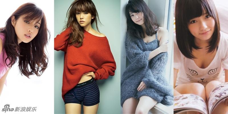 日本四美女上榜