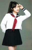日本千年美女桥本环奈着短裙校服