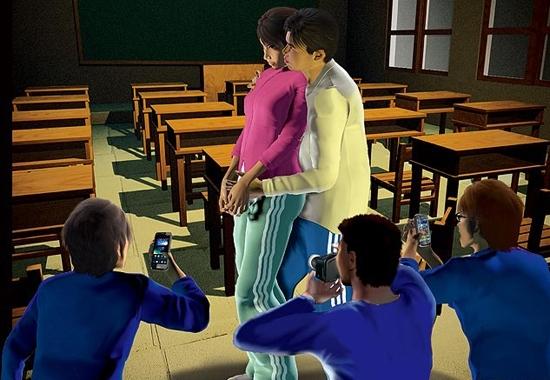 校园奸淫_女孩遭老师囚禁强奸拍裸照 脱裤袭胸盘点校园各种\