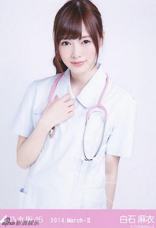 日本女星性感护士造型 制服诱惑风情万种 黑龙