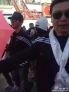 """31日下午,李晨抵达西藏拉萨机场,将与范冰冰会合携手参与公益慈善项目""""爱里的心"""",而范冰冰已于上午率先抵达。在拉萨相聚的两人同款工作服装萌萌哒,李晨领着范冰冰走出酒店,女方一路低头但脸上带笑,两人甜蜜得让旁人艳羡不已。"""
