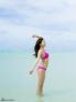 日本嫩模佐野雏子拍摄了一组比基尼写真,外型亮丽的她身高160公分,拥有33F上围和51公分小蛮腰。