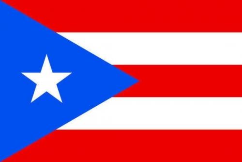 波多黎各国旗矢量图片