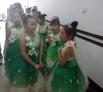 龙广艺术团少儿合唱团的小演员