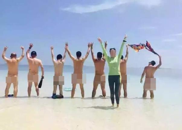 中国游客马来西亚拍裸照被扣留