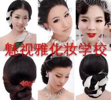 应用性,最流行的裸妆、韩式妆容、主持晚礼、新娘造型等风尚妆容,