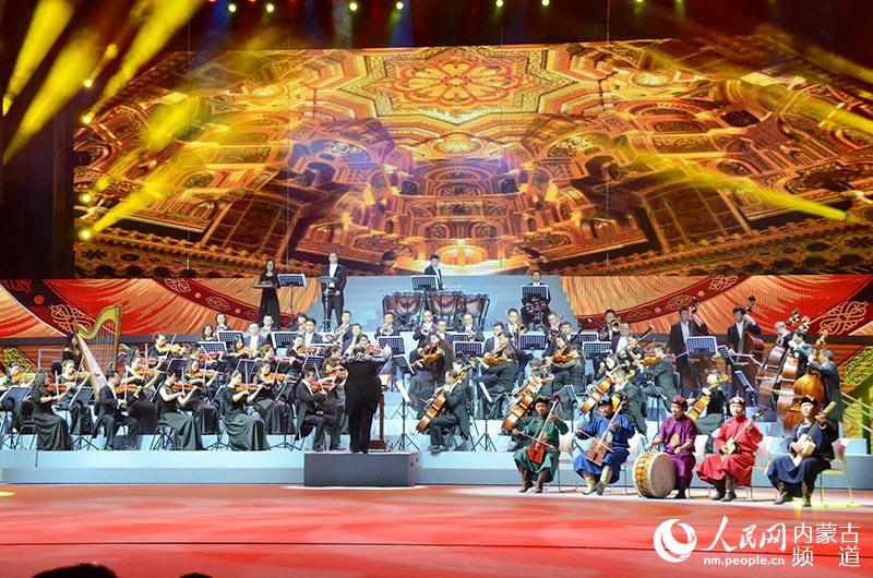 中国·蒙古国文化交流活动周开幕式晚会精彩上演