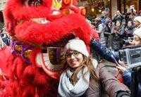 曼哈顿中国城年味浓