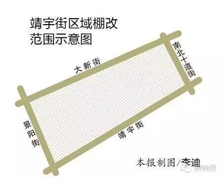 哈尔滨靖宇街电塔街棚改将正式启动拆迁改造