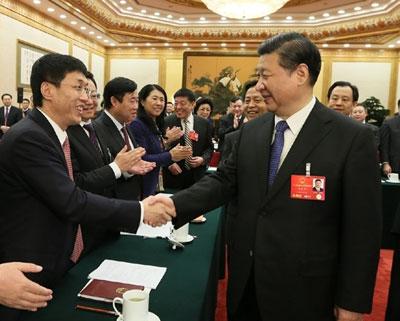 习近平参加黑龙江代表团审议