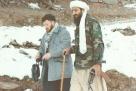 原文配图:本·拉登和阿布·穆萨卜·扎卡维,后者被怀疑是基地组织成员和作家。