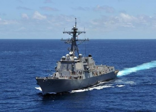 美官员称美第三舰队将派遣更多船舰到东亚活动