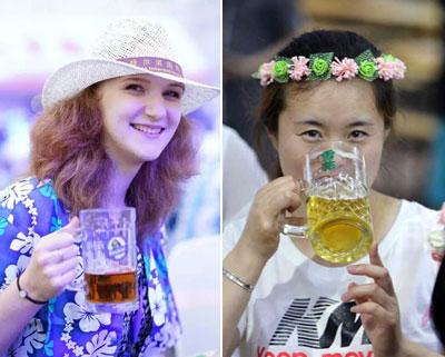 2016中国•哈尔滨国际啤酒节激情开幕