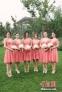 陈妍希伴娘团身穿粉色礼服手拿手捧花亮相,颜值之高绝对令人惊叹。图片来源:东方IC 版权作品 请勿转载