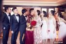 当地时间2016年3月20日,印尼巴厘岛,吴奇隆、刘诗诗大婚。高颜值伴娘团成风景线。图片来源:东方IC 版权作品 请勿转载