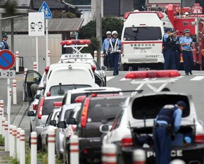 日本神奈川县持刀袭击事件致数十人伤亡